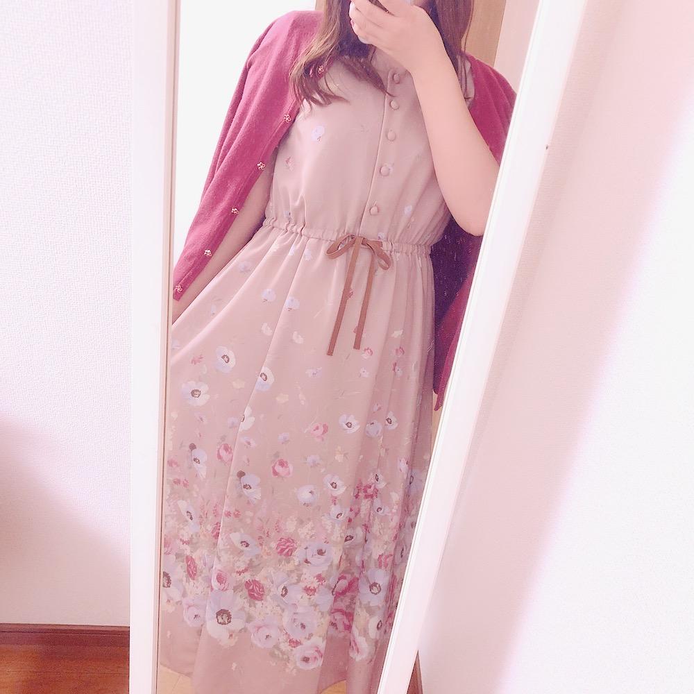 美人百花コーデ