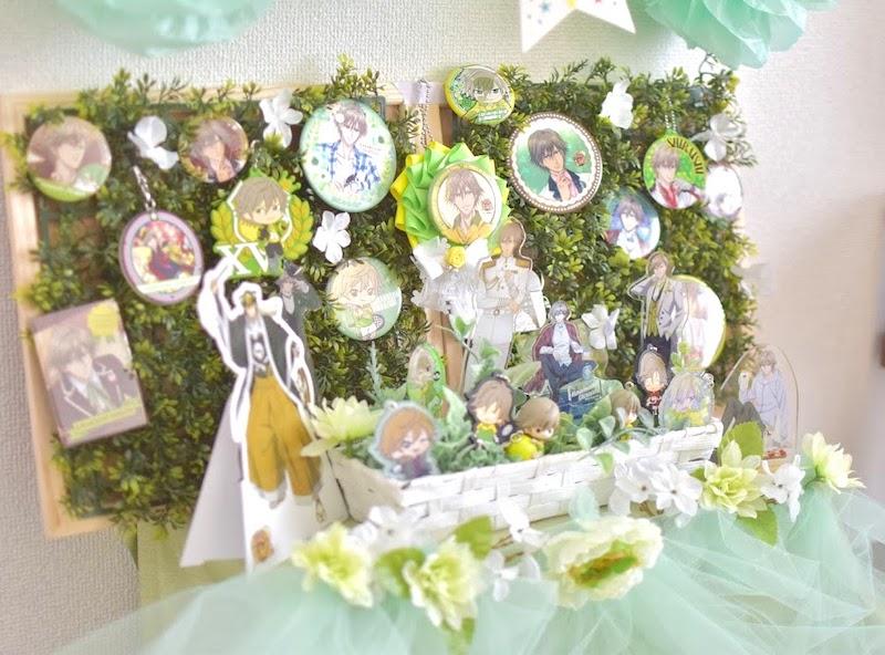 白石くんのバースデー祭壇